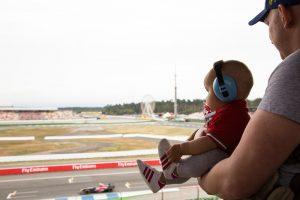 Fórmula 1 com um bebê