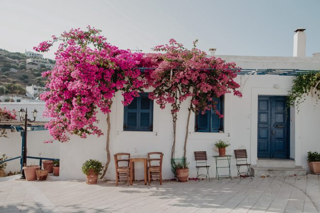 Lefkes, Paros, Grécia