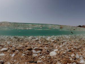 Praia em Paros, Grécia