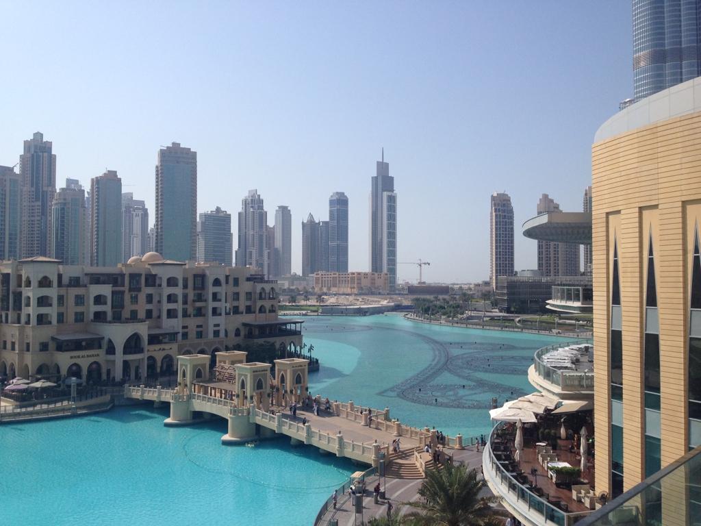 A extravagante Dubai