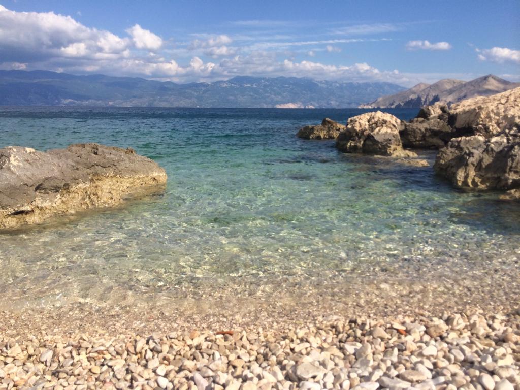 Um pequeno paraíso na Croácia: Baska, Ilha Krk