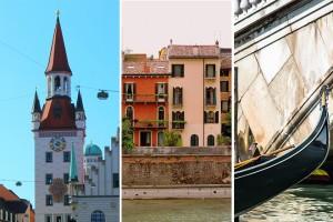 10 itinerários românticos pela Europa
