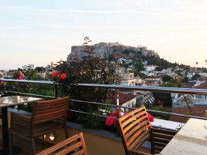 Terraço Electra Palace Hotel, Atenas