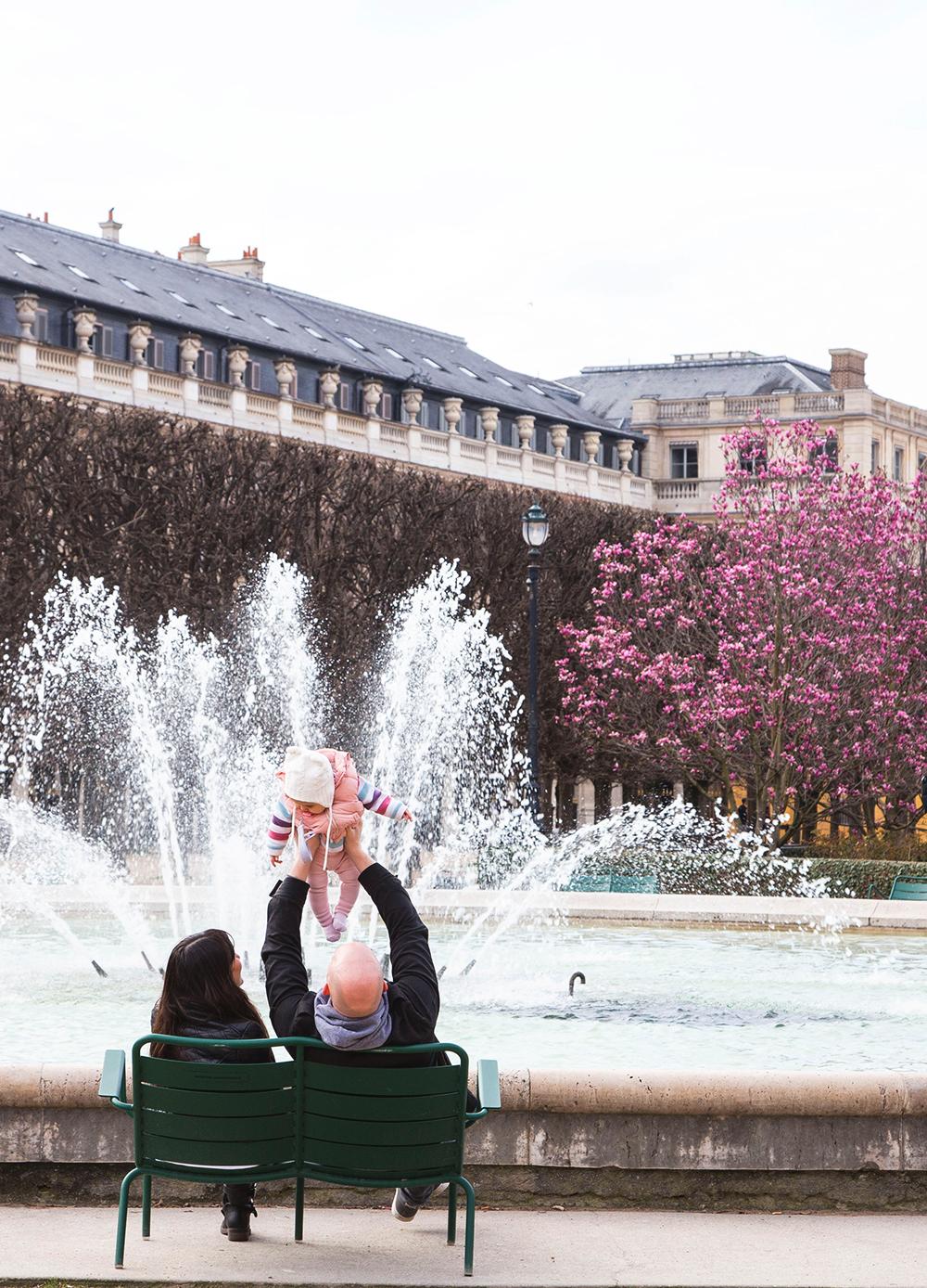 Paris com um bebê: o que você precisa saber