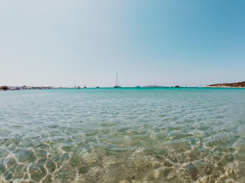 As 5 melhores praias em Paros